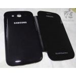 NEW BLACK HARD BACK FLIP CASE COVER POUCH FOR SAMSUNG Galaxy Grand Duos I9082