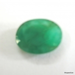 Certified Natural Untreated 3.33 Ct. Emerald Gemstone Rashi Ratan For Budh Panna