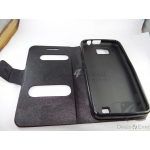 Brand New Hard Shell Magnate Back Flip Case Cover Pouch for Micromax A90