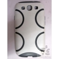 SILICON SILICONE HARD CASE COVER POUCH SAMSUNG GALAXY S3 I9300 SIII NEW DEFENDER