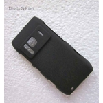 Premium Quality black Rubberized Back Case Cover Pouch Hard back For Nokia N8