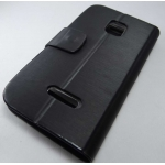 Black Caller ID Book Flip cover Table talk Case Pouch Karbonn A2 Smartphone