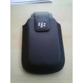 NEW BLACK flip pouch case cover PROTECTOR blackberry bold 9790 bb9790