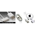 Iphone , iPad , iPod Data Cable + Car Charger combo 2 in 1