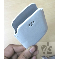 9220 Brand new White blackberry bold curve 9220 pocket case pouch with BB Logo