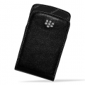 BLACKBERRY LEATHER POUCH CASE COVER FOR CURVE 9360