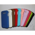 Black Rubberized Case Hard Back Cover Pouch For Samsung Galaxy Grand i9082 i9080