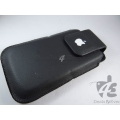 Brand New Black Leather Case Cover Pouch with apple logo for Apple iPhone 5