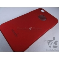 Brand New Red Hard Shell Back Case Cover Pouch for Apple iPhone 4 G