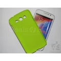 Green Rubberized Case Hard Back Cover Pouch For Samsung Galaxy Grand i9082 i9080
