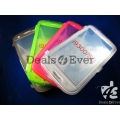 Green soft silicon jelly gel Case Cover pouch table talk Samsung Galaxy i9300 S3