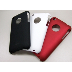 MOSHI IGLAZE HARD SHELL CASE FOR APPLE IPHONE 3g 3gs with screen PROTECTOR Black