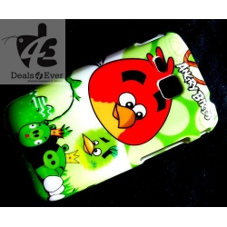 Angry Birds FASHION Hard Back PROTECTOR Case Cover i 9000 Galaxy S