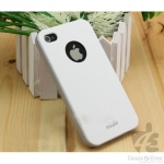 MOSHI IGLAZE 4 HARDSHELL CASE (WHITE) IPHONE 5