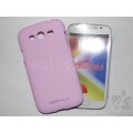 Pink Rubberized Case Hard Back Cover Pouch For Samsung Galaxy Grand i9082 i9080