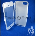 Imported Pink skin silicon jelly gel Case Cover table talk For Apple iPhone 5