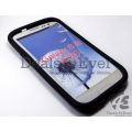Premium BLACK HARD defender SHELL CASE COVER POUCH SAMSUNG GALAXY S3 i9300 SIII