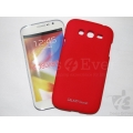 Red Premium Rubberized Case Hard Back Cover Samsung Galaxy Grand i9082 i9080