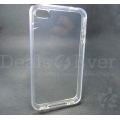Transparent Clear Silicone jelly gel case back cover for Apple iPhone 4
