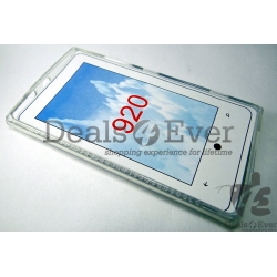 Transparent silicon jelly Case Cover pouch table samsung galaxy i9070 Advance
