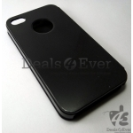 New Black leather Flip Case Cover pouch table talk for apple iPhone 4 4S
