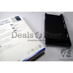NEW BLACK HARD SHELL back FLIP CASE COVER POUCH FOR SONY XPERIA P LT22I