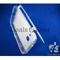 Imported transparent Gray silicon jelly Cover For samsung galaxy S6802 AceDuos