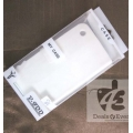 white Caller ID Table talk Case cover pouch for iphone 3g 3G