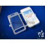 Transparent silicon jelly Case Cover pouch table talk Samsung Star 3 duos S5222