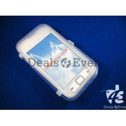 Transparent silicon jelly Case Cover pouch table samsung galaxy S6802 Ace Duos