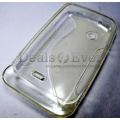 Transparent Silicone S Line skin jelly Case Cover for Xperia ST21i ST21 2 TIPO
