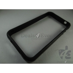 Apple iPhone 4 4G 4GS Bumper Case cover guard with Metal finish Buttons BLACK