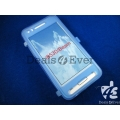 Blue silicon jelly gel Case Cover pouch table talk samsung galaxy i8530 Beam