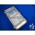 Gray silicon jelly gel Case Cover pouch table talk samsung galaxy i9070 Advance