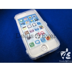 New transparent silicon Flip Case Cover pouch table talk for apple iPhone 4 4S