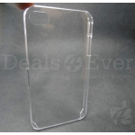 Transparent Clear hardback hard back case protection cover for Apple iPhone 5