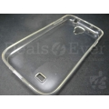 Transparent Clear Silicone jelly gel case Back cover for Samsung Galaxy Note 2