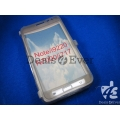 Transparent silicon jelly Case Cover Pouch Samsung Galaxy Note i9220 N7000 i717