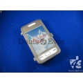 transparent Gray silicon jelly Case Cover table talk Samsung Star 3 duos S5222