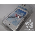Transperent Clear silicon gel jelly case cover pouch for Nokia Lumia 820