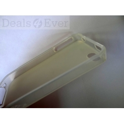 Silicone silicon skin jelly Case Cover Pouch for iphone 4G 4S i phone back cover