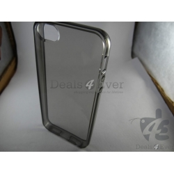 Clear Sillicone gel jelly Case Cover Pouch for Apple iphone 5